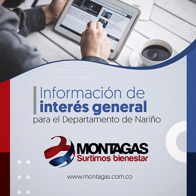 INFORMACIÓN DE INTERES GENERAL PARA NARIÑO